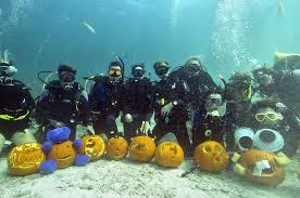 Beach Dive-Pumpkin Carving Contest,Crescent Bay, Laguna Beach, CA @ Crescent Bay, Laguna Beach, CA   Laguna Beach   California   United States